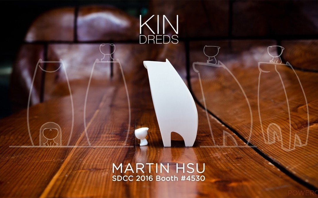 "Kindreds ""Powder"" by Martin Hsu (SDCC 2016 First Edition Exclusive)"