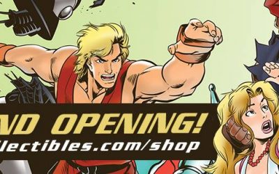 UDON Collectibles Online Shop Grand Opening!