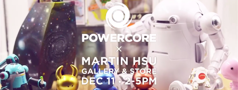 Martin Hsu X PowerCore Holiday Art & Gift Shop
