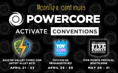 #conlife continues – PowerCore hits the Convention Circuit