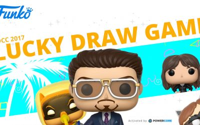 PowerCore Activates SDCC 2017 Funko Lucky Draw Game