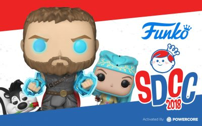 Once Again, PowerCore Activates SDCC with the 2018 Funko Lucky Draw Game